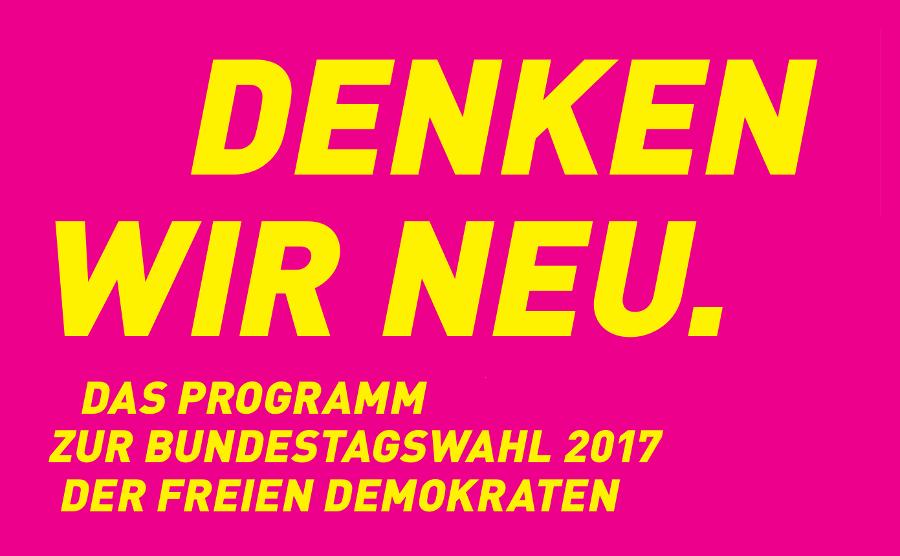 Wahlprogramm FDP Pflegenotstand