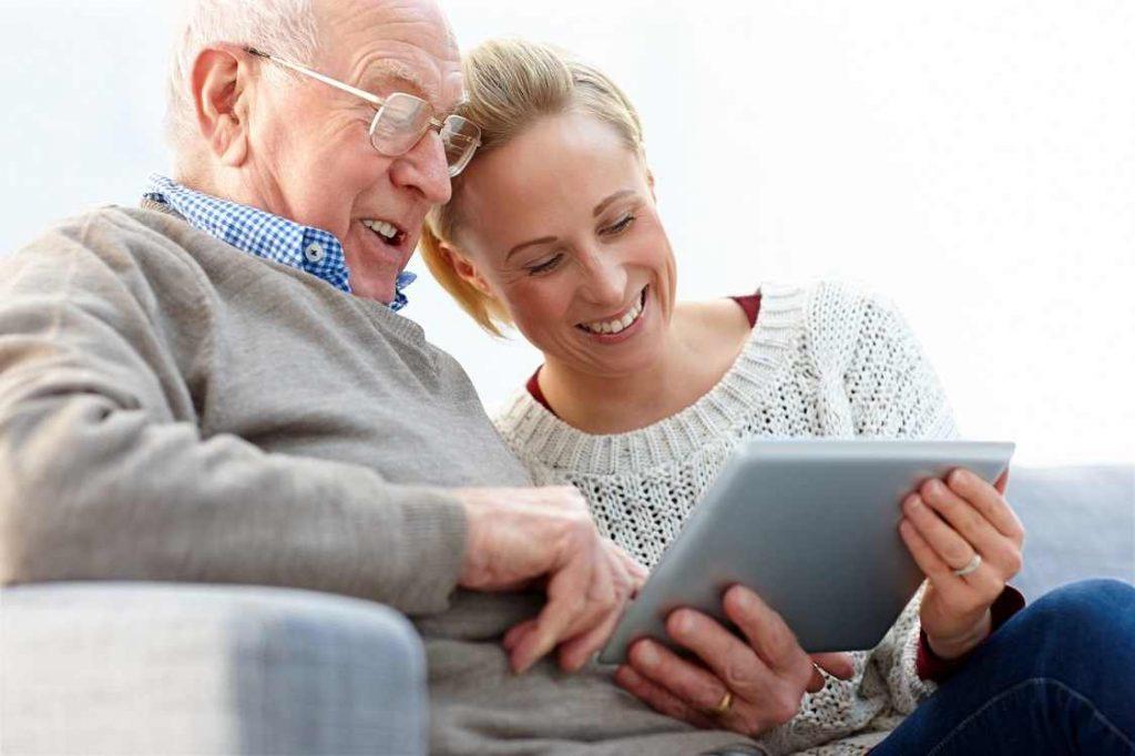 Kommunikationstechnik für Senioren